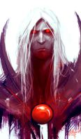 Blood Lord Vlad by AthavanArt