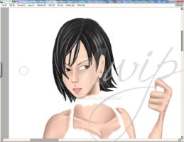 Resident Evil - WIP 1 by Reenave