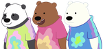Rad Shirts for some Rad Bears by Grizz-Bear