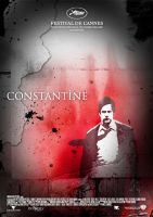 Constantine Movie Poster by Morillas