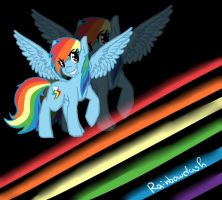 ..:Rainbowdash:.. by Sinlver23