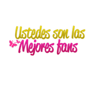 Ustedes son los mejores fans by luceroval
