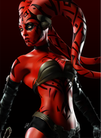 Darth Talon by ManoelaWings