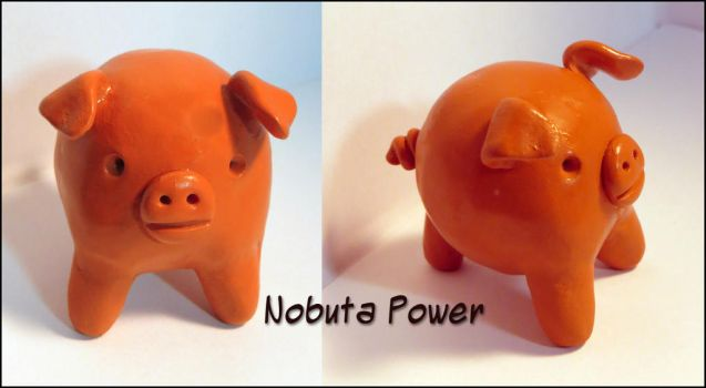 Nobuta Friendship Pig by balletvamp