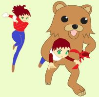 Pedobear Strikes Again... by KeevanGoliath
