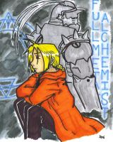 The Elric Brothers by LorTheZeldaNerd