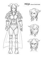 Character Sheet Miqa by Obhan