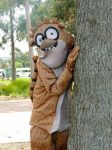 Regular Show: Rigby Cosplay -  Slacking Off by sounds-of-impalement