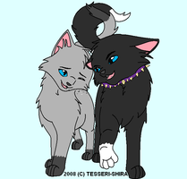Scourge and Ashfur by breebree223