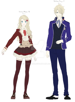 Dance With Devils Anime OCs by Aleude