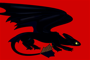 Toothless by LaDeary