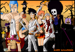 OP: Happy Halloween by Isara-La