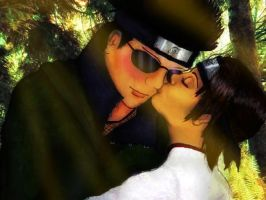 ShinoTen- Brief Kiss by Rel-Rogue