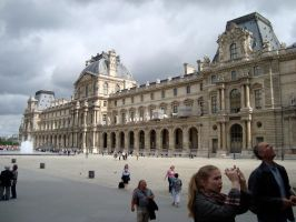 The Louvre Museum by BillReinhold
