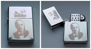 THE GODFATHER - engraved lighter by Piciuu