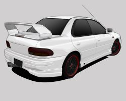 Subaru Impreza WRX variation 1 by shinoahdeath