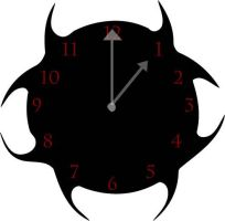 Clock by Infected-Rose