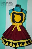 Soul Eater Evans Cosplay Pinafore Commision by DarlingArmy