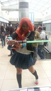 Mao amatsuka with light saber? by Romi-pink7