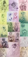 nobody said sketches are perfect by kateppi