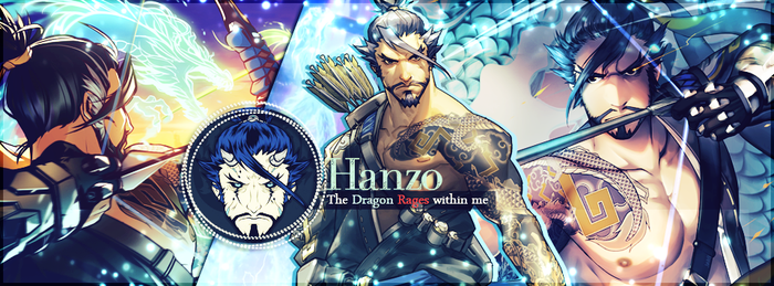 Hanzo Overwatch Banner by LibraDesigns