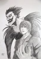 Death Note - A Brightly Shining World by INH99
