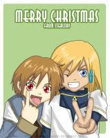 Merry Christmas from Stealthy by Stealthos-Aurion