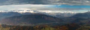 3 massifs et 2 Chaines by rdalpes