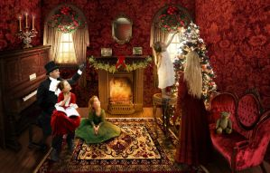 Victorian Christmas by Kimberly-M