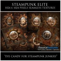 Steampunk Elite Texture Set by roseenglish