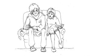 Harry and Tessa by MioneBookworm