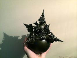 Infinity bubbles - 3Dprinted fractal sculpture by bib993
