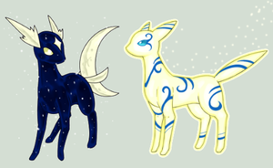 Sparkly Personify Contest: Blue and Yellow by Laurelman