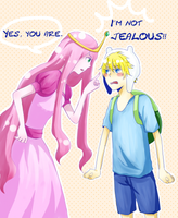 Jealousy by boringcloud