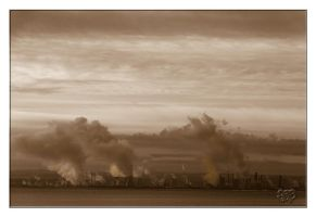 BW - All Steamed Up by SnapperRod