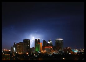 OKC Lightning by aaronbee