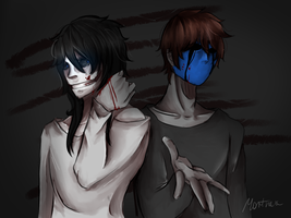 [Creepypasta] Jeff and Jack by KorikoMewGean