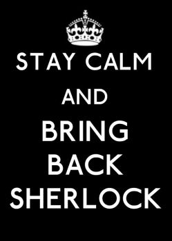 Stay Calm and Bring Back Sherlock by Gatergirl79