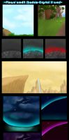 Background set 1 by Shadow-Crystol
