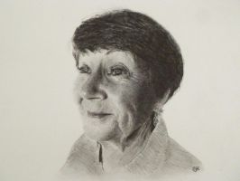 My mum in pencil by SteveHargreaves