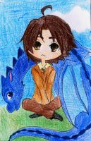Chibi Eragon by Melody-in-the-Air