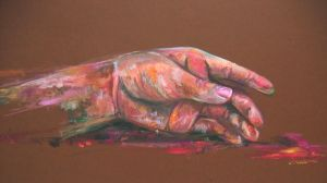 Hand study- Gouache by Emetical