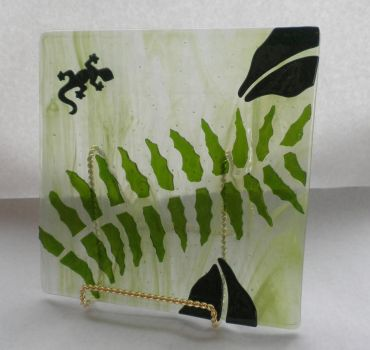 Amazon Gecko Plate by CeltCraft