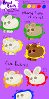 Bread Bears Species Guide (customs OPEN) by Paradox-pony
