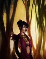 Dragon Age - Morrigan 2 by Ami-Fly