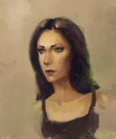 Female Portrait by JoshuaNel