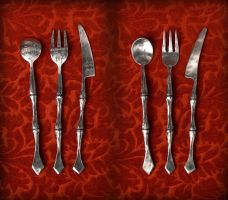 Choose Your Weapon for Dinner by Rajala