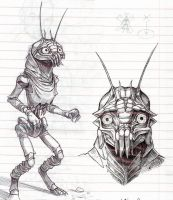 District 9 sketches by GantzAistar