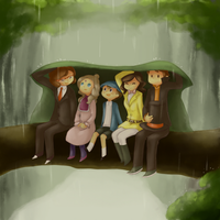 Rainy by claire-pouette