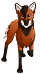 -:Maned Wolf:- by PulsingLights